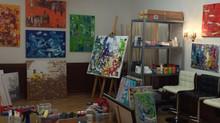 Mein erstes Atelier ist eingerichtet!