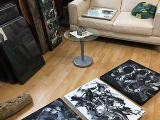 Impressionen aus meinem Atelier (Juni 2018)
