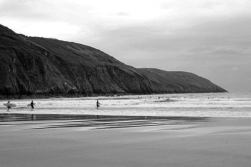 Cornwall surfers