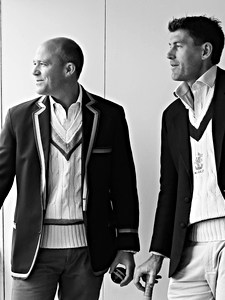 Gavin & Tom Cricketers