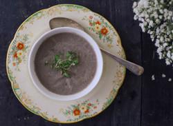 Mushroom soup 3