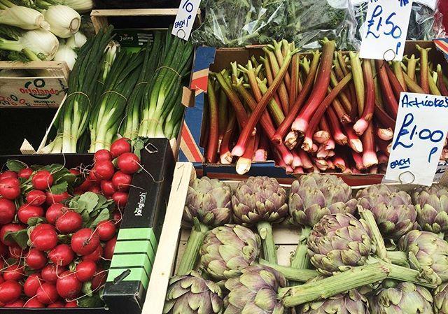 I love portobello fruit & veg market for its immense variety of little gems from around the world!!