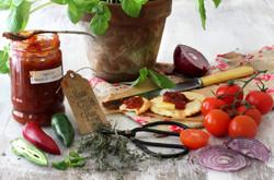 Ingredients- Spicy Tomatoe Relish by Rossana Novella