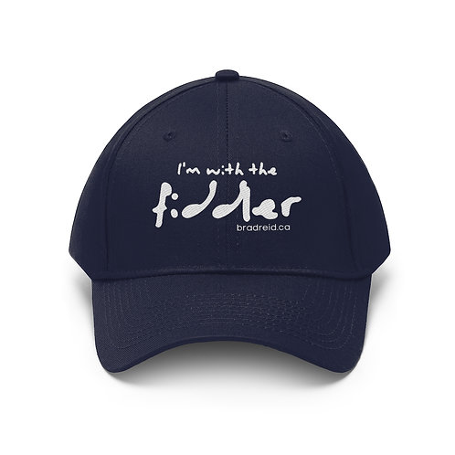'I'm with the fiddler' Traditional Style Cap (bradreid.ca) - Unisex