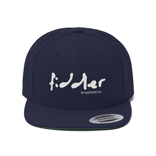 'fiddler' Modern Style Flat Bill Hat (bradreid.ca) - Unisex