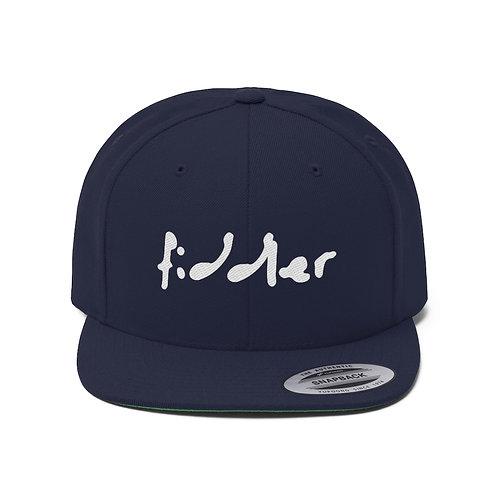 'fiddler' Modern Style Flat Bill Hat - Unisex