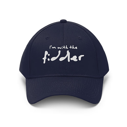 'I'm with the fiddler' Traditional Style Cap - Unisex