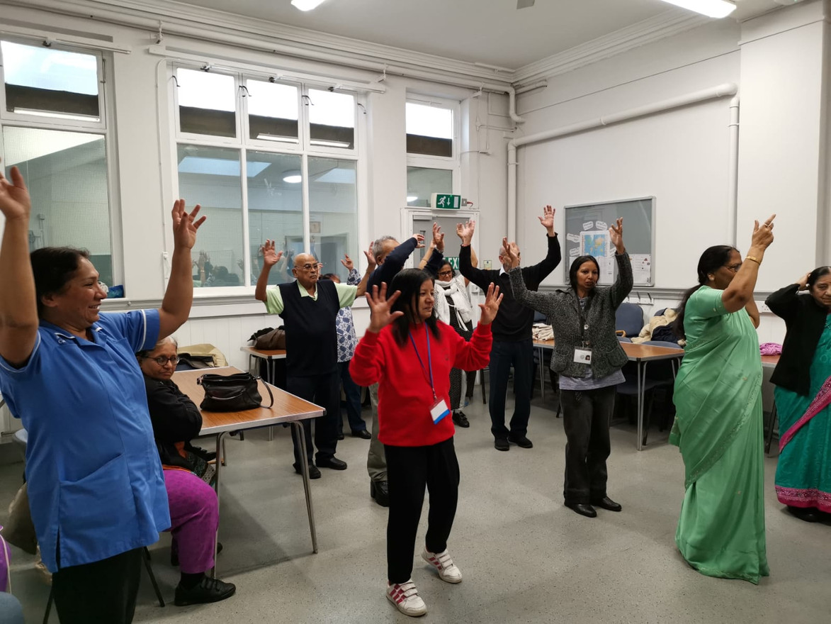 Bollywood dance project