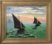 monets boats with new frame.jpg