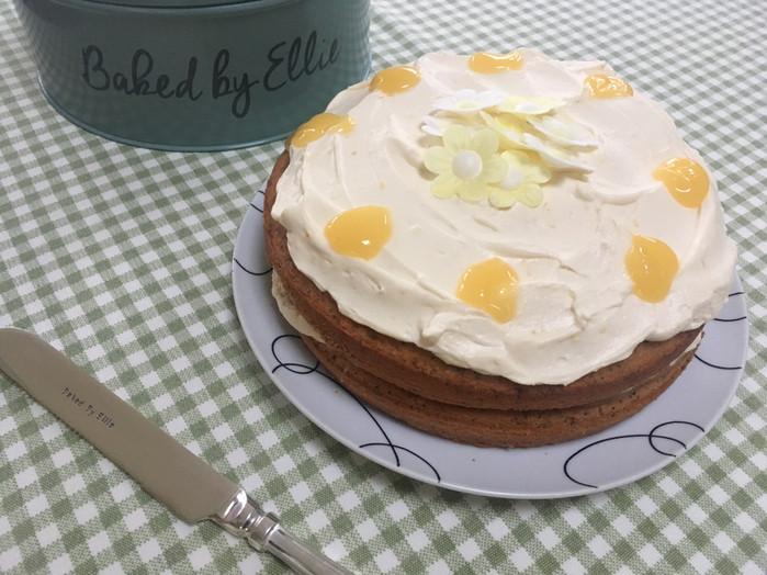 Springy Zingy Lemon Cake