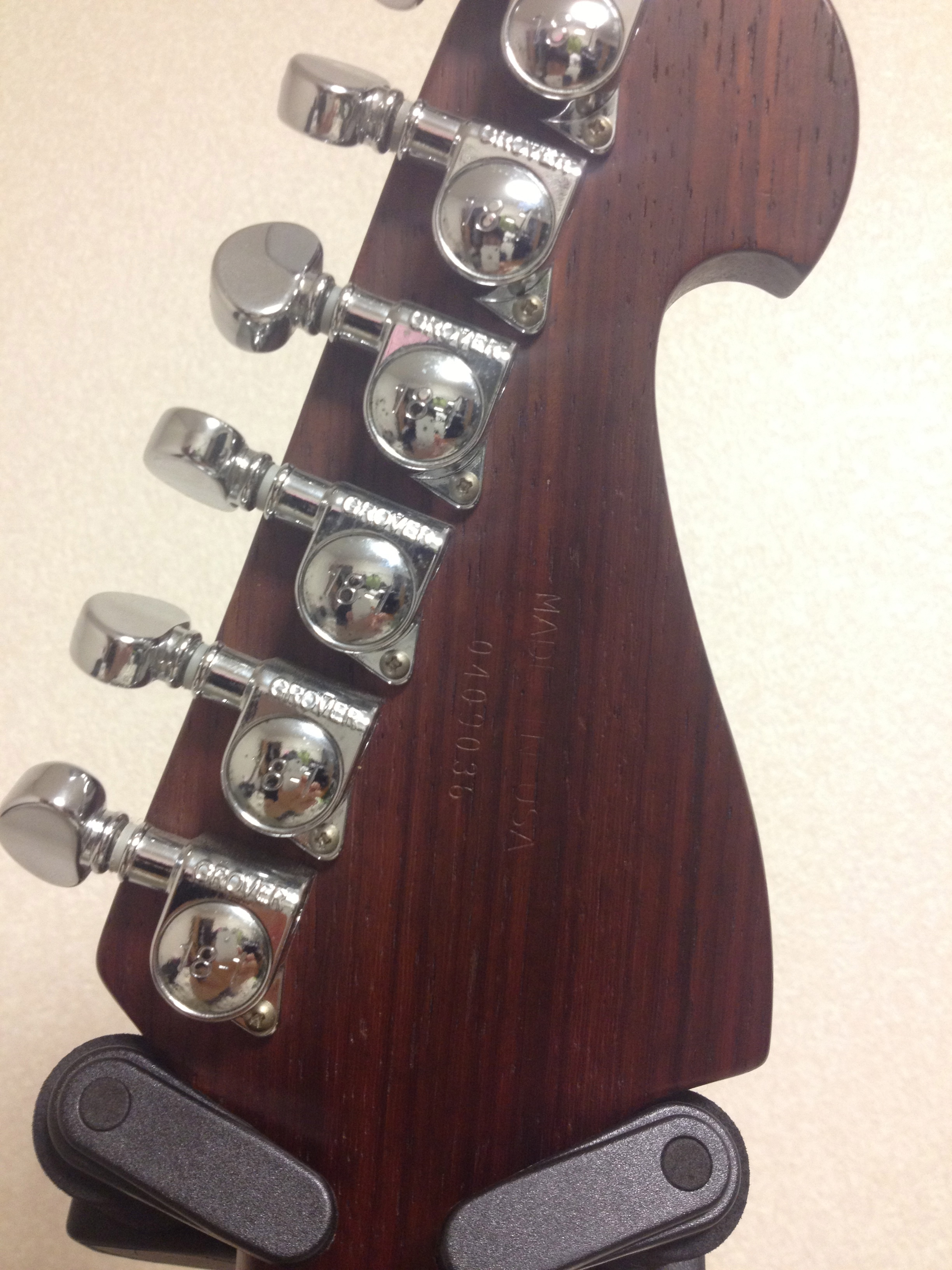 Washburn N4 pad auk head back