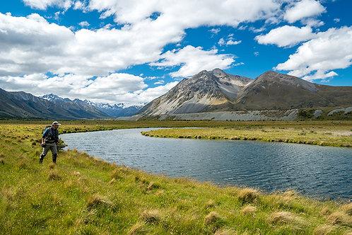12月出発と2月出発 ニュージーランド南島 FishCamp