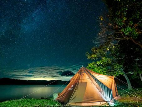 釣りとキャンプ