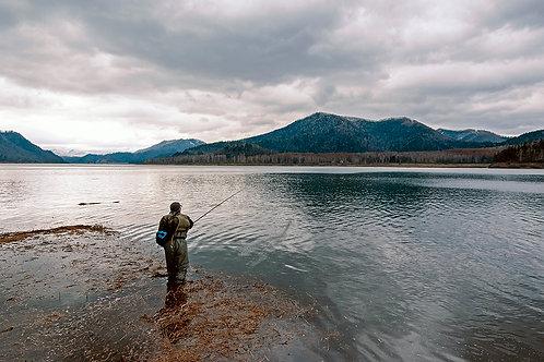 4月下旬(土日)解氷直後のダム湖巡り
