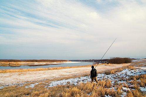 12月 道東本流アメマスキャンプ&薪ストーク(ストーブ&トーク)