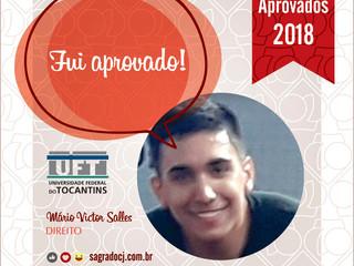 Aprovado em Direito UFT