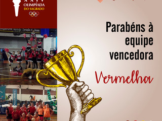 Bandeira Vermelha - Vencedora da XXIV Olimpíada do Sagrado 2018