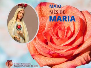 HOMENAGEM AO SAGRADO CORAÇÃO DE MARIA