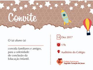 Formatura Educação Infantil 2017