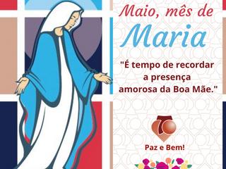ABERTURA DO MÊS DE MAIO - MÊS DE MARIA