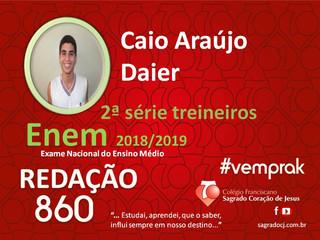 "TREINEIROS ENEM 2018-2019                         ""CAIO ARAUJO DAIER"""