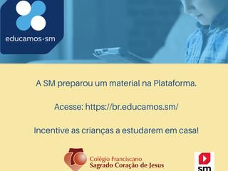 Plataforma Educamos SM - Atividades Disponíveis