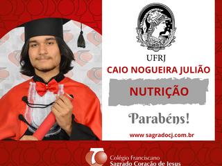 NUTRIÇÃO - UFRJ CAIO NOGUEIRA JULIÃO