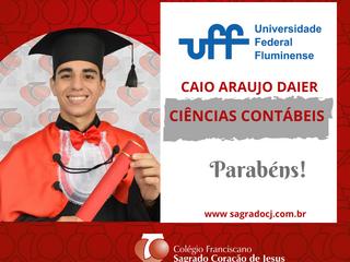 CIÊNCIAS CONTÁBEIS - UFF   CAIO ARAÚJO DAIER