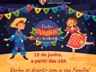 FESTA JUNINA DO SAGRADO 2019