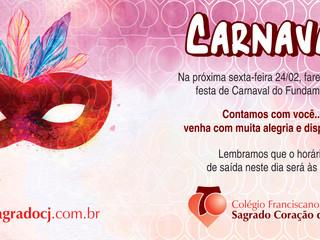 Festa de Carnaval Ensino Fundamental I