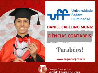 CIÊNCIAS CONTÁBEIS - UFF DANIEL CABELINO MUNIZ