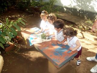 Visita dos Mascotes na Educação Infantil