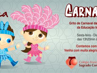 Grito de Carnaval Educação Infantil