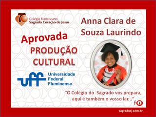 APROVADA PRODUÇÃO CULTURAL UFF