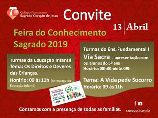 FEIRA DO CONHECIMENTO 2019