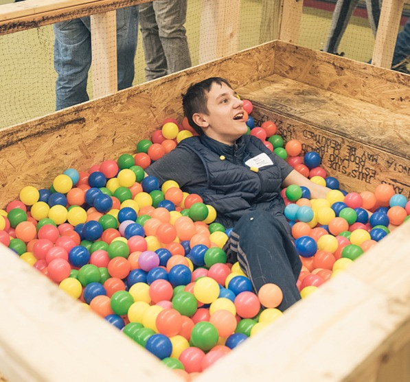 Dax in the Ballpit!