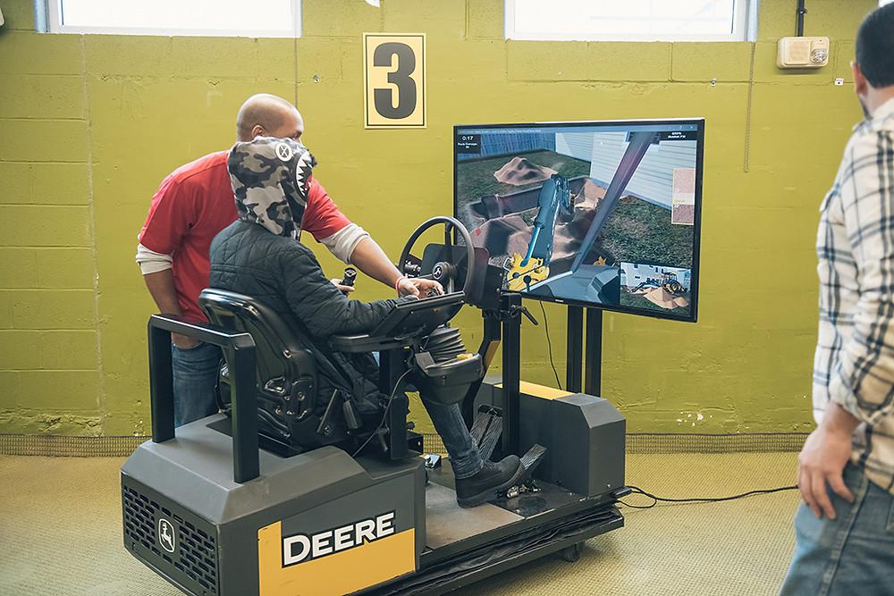 Excavator simulator - OPerating Engineers 324
