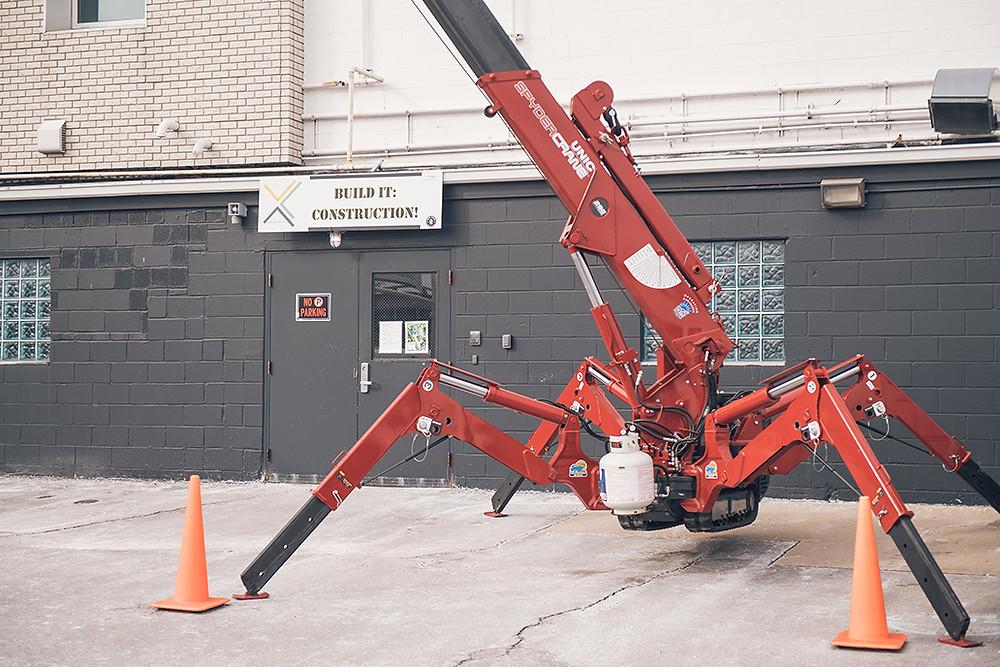 Spyder Crane - Operating Engineers 324