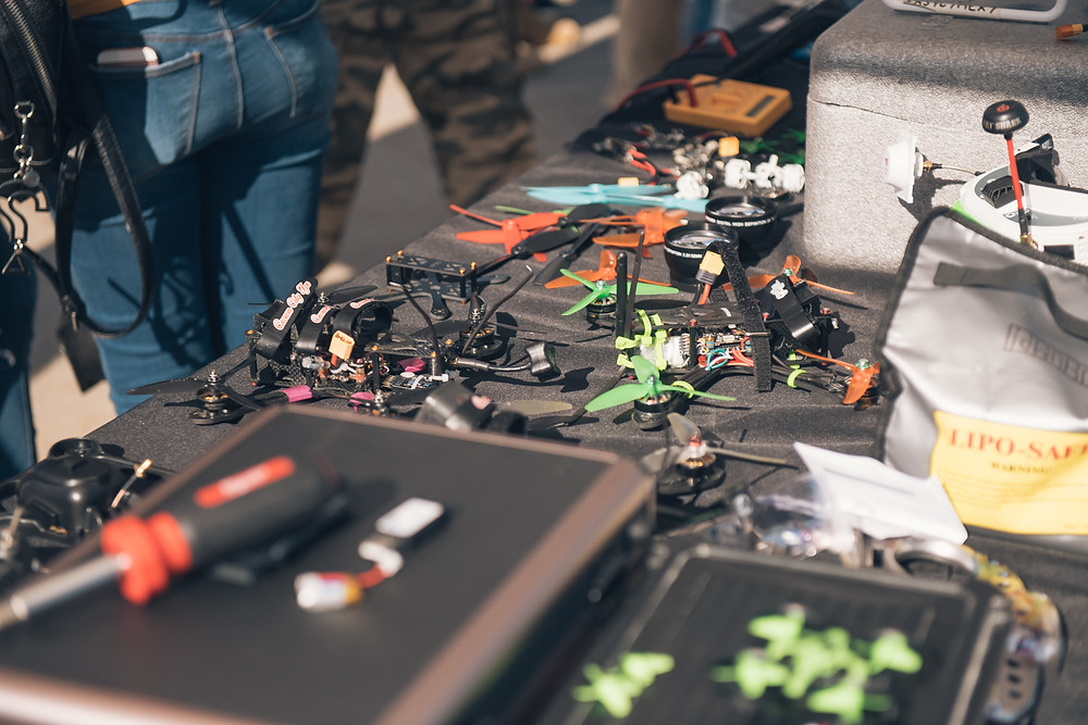 Jupiter Aerials demo's making your own modifications to drones
