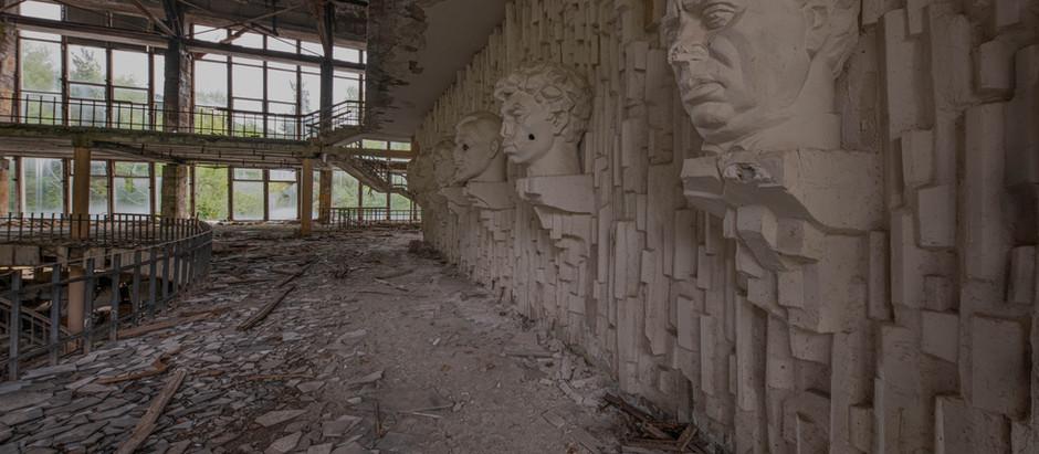 Das alte sowjetische Kulturzenter