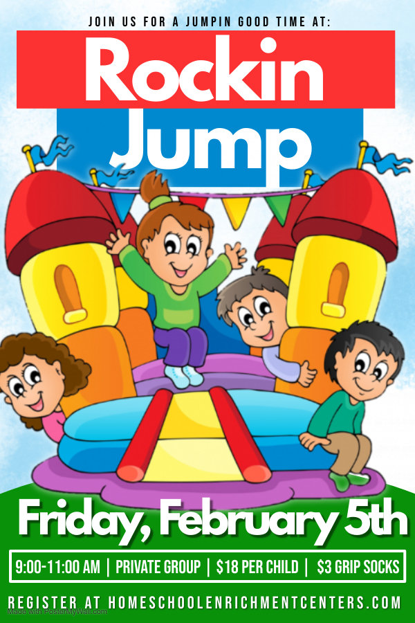 Copy of Jumping Castle Poster - Made wit