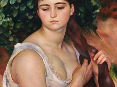 """""""La Trenza"""", Renoir"""