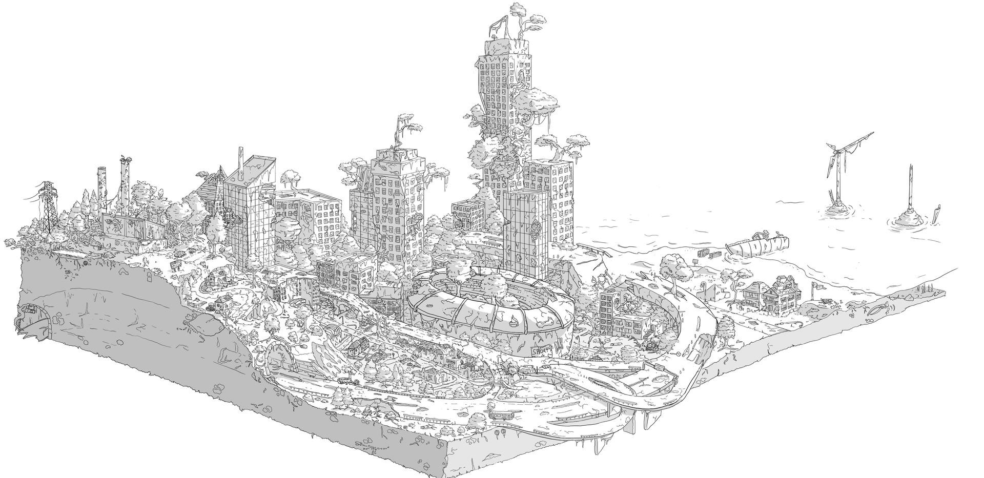 Level Design ultra-détaillé - _La vieill
