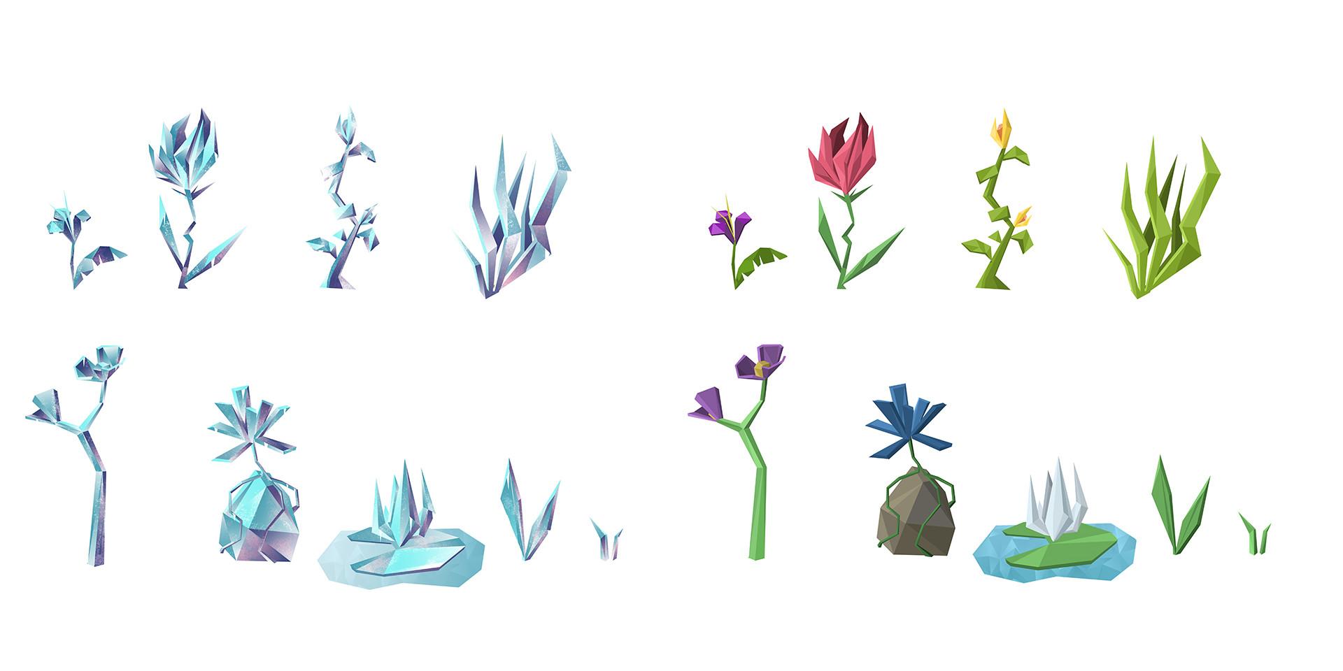 Concept Art - Flore