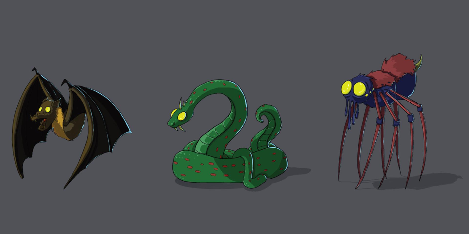 Concept Art - Vilaines bêtes
