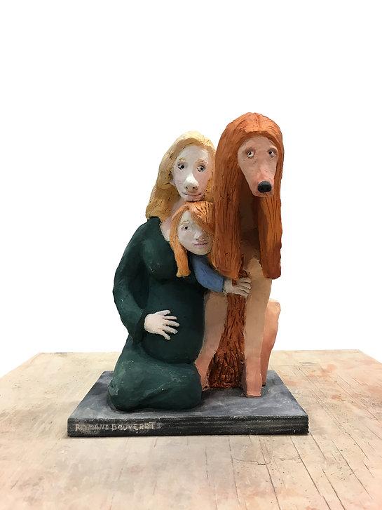 sculpture chien