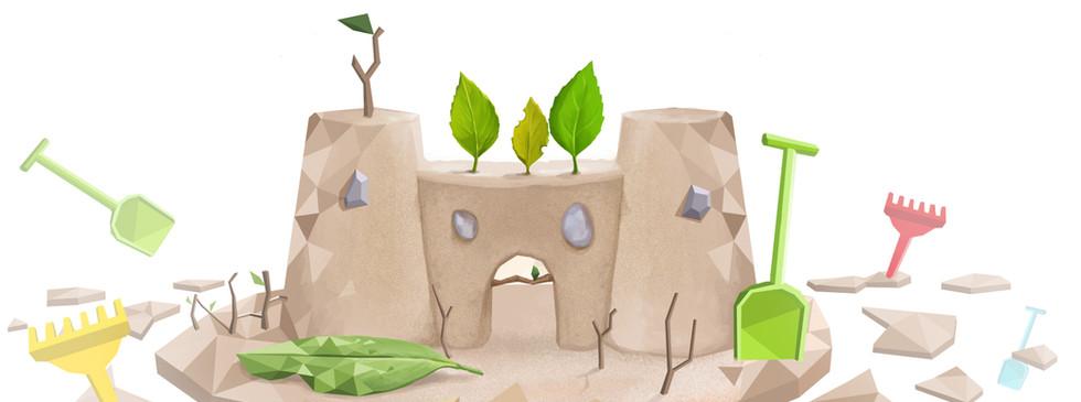 Concept Art - Niveau bac à sable