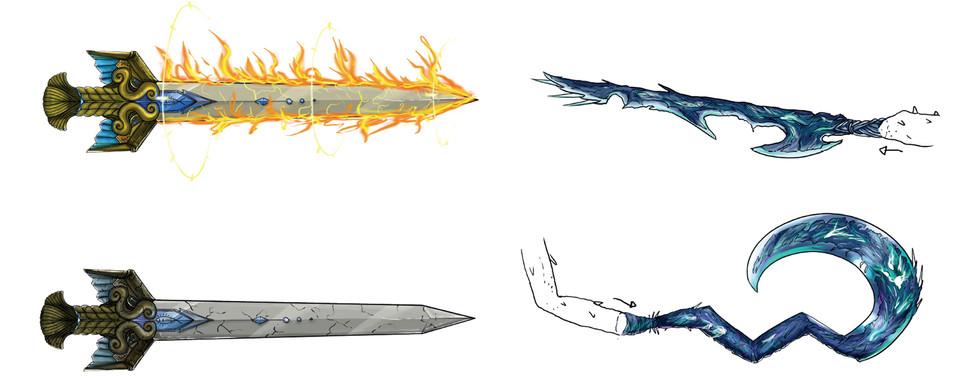 Concept Art - Armes