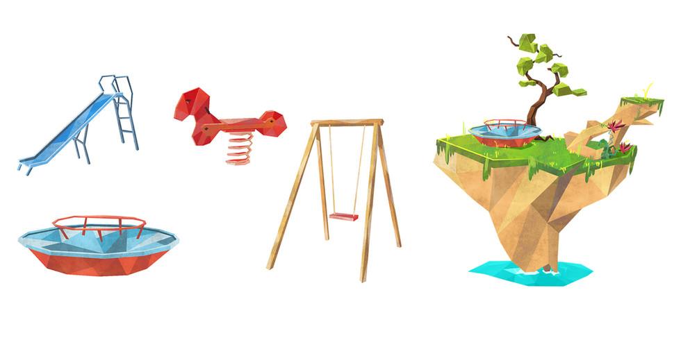 Concept Art - Jeux d'enfant