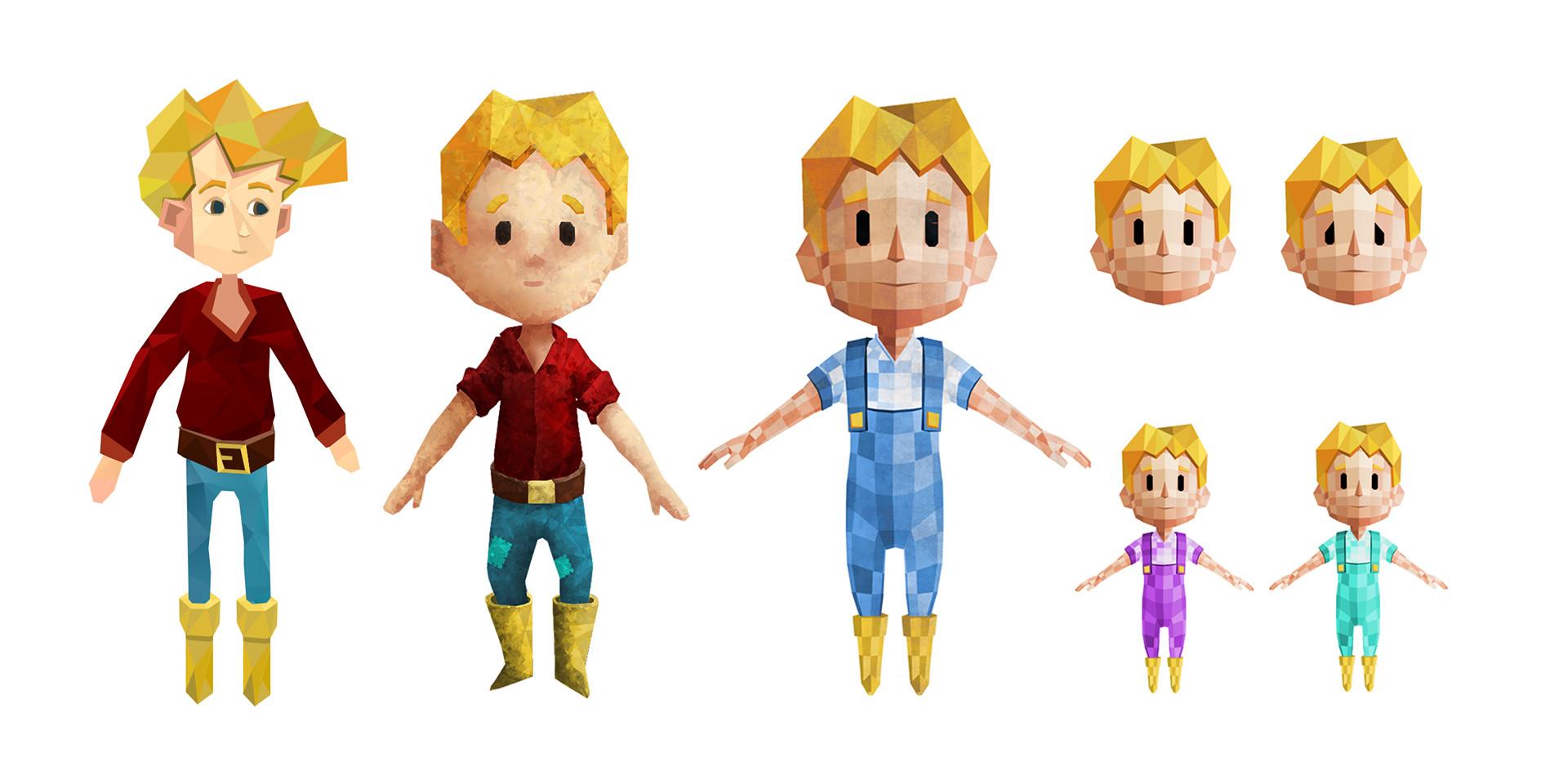 Recherches sur le personnage de Tom